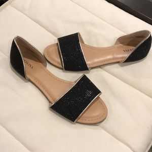 Women's sparkly flats